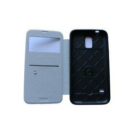 Husa Samsung Galaxy S5 Arium Bumper Flip View negru