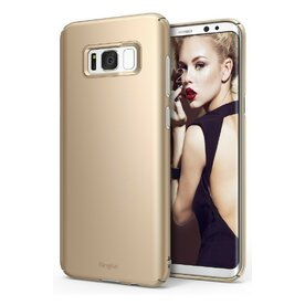 Husa Samsung Galaxy S8 Plus Ringke Slim Royal Gold