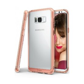 Husa Samsung Galaxy S8 Ringke Fusion Rose Gold