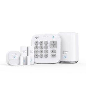 Kit Complet Alarma Smart eufy Security, Senzor miscare, 2x senzori intrare, tastatura, Wireless