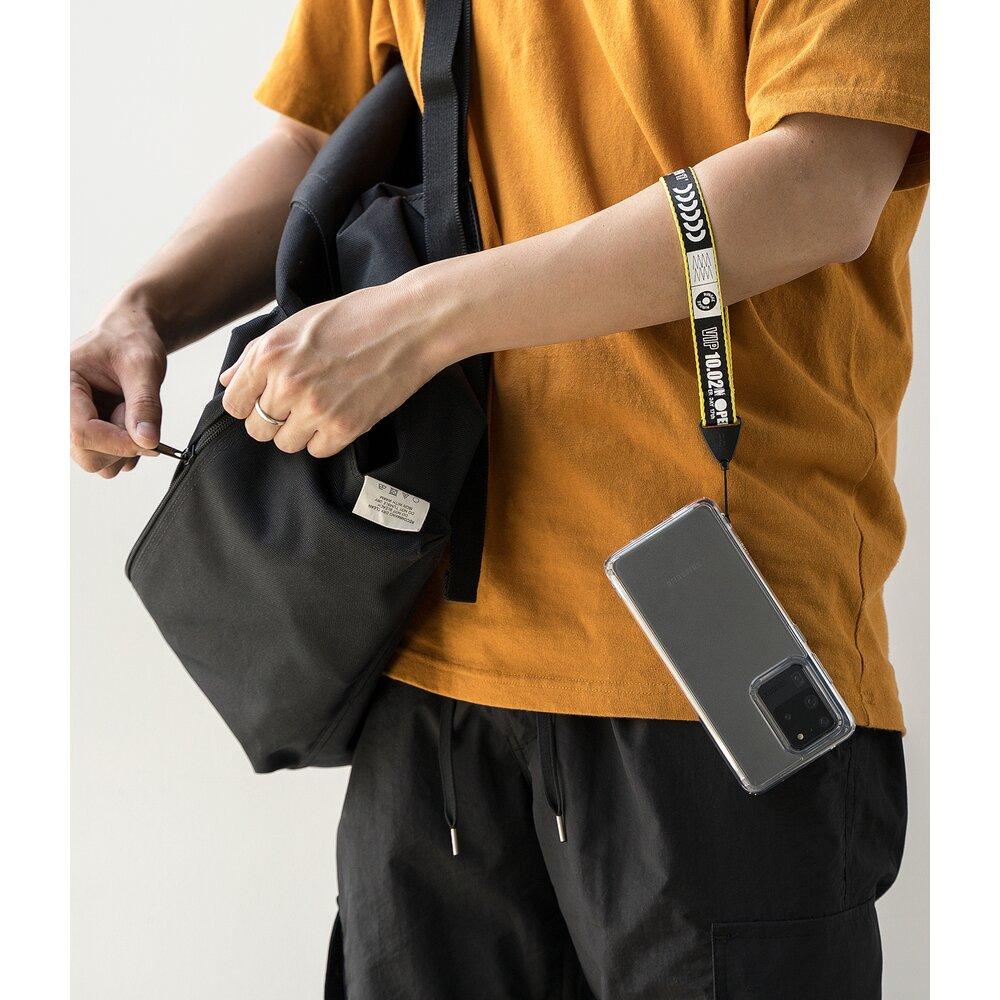 Snur/curea de mana pentru telefon Ringke Hand Strap Negru/Galben