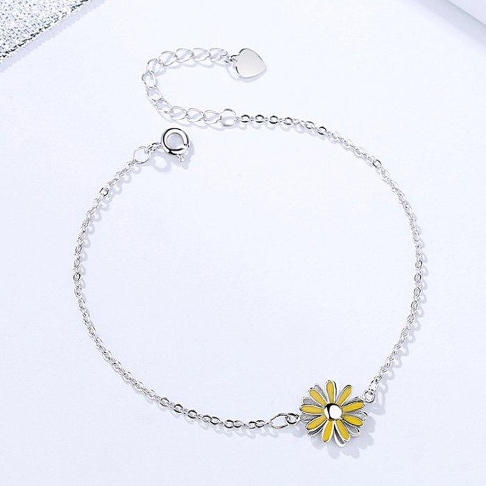 bratara din argint yellow daisy 35474 4