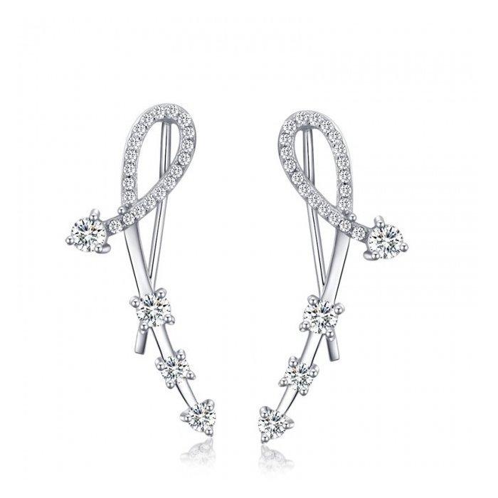 Cercei din argint Fashion Diamonds poza 2021