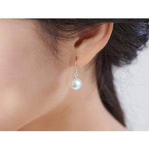 Cercei din argint Hanging Pearls