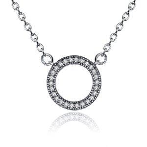 Colier din argint cu Cercul Infinitului