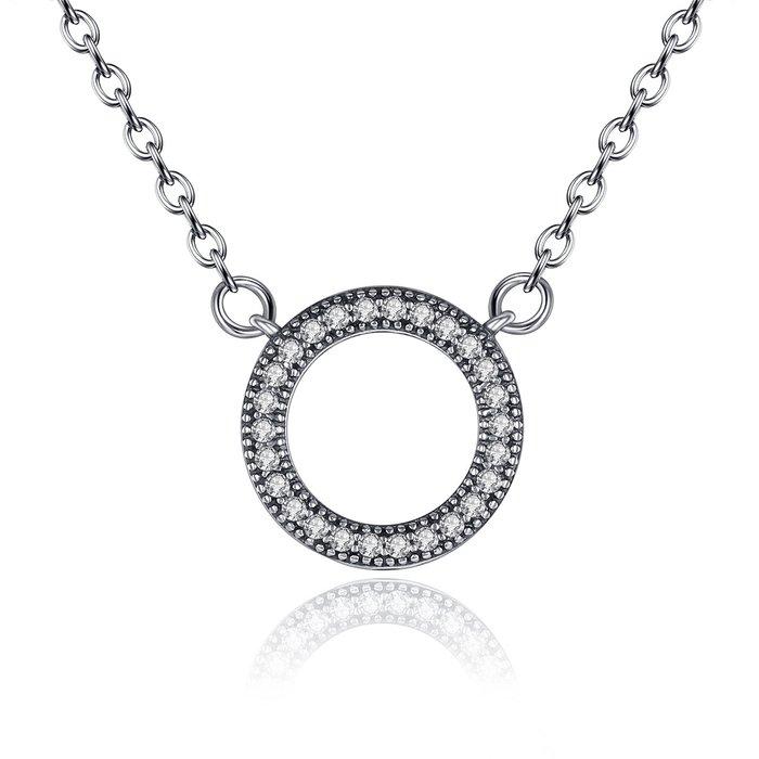 colier din argint cu cercul infinitului 33710 4