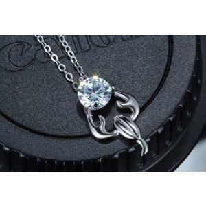 Colier din argint cu Zodia Scorpion