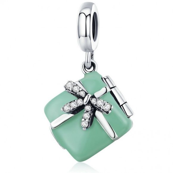 Talisman din argint Macarons Box