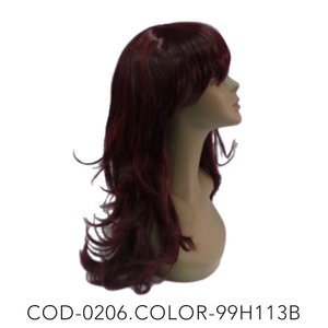 peruca COD-0206.COLOR-99H113B