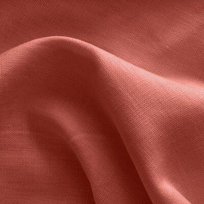 100% linen fabric - Brick
