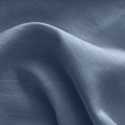 100% Premium Linen - Dusty Blue