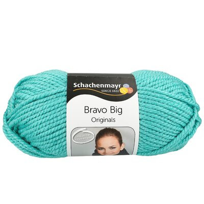 Acryl Yarn-Bravo Big- Mint 00177