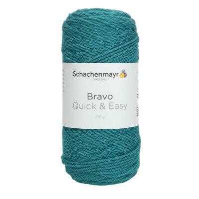 Acrylic yarn Bravo Quick & Easy - Aqua 08380