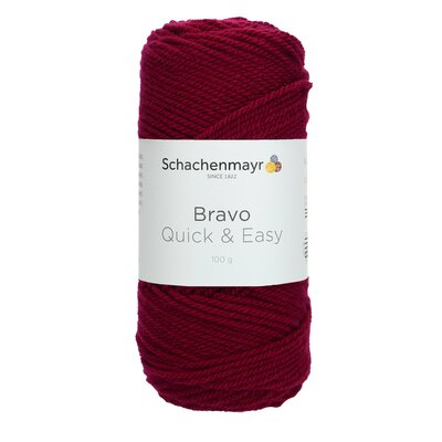 Acrylic yarn Bravo Quick & Easy  - Blackberry 08045