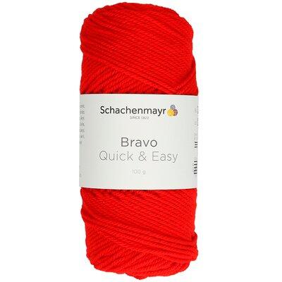 Acrylic yarn Bravo Quick & Easy - Fire 08221