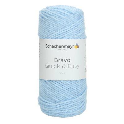 Acrylic yarn Bravo Quick & Easy - Glacier 08363