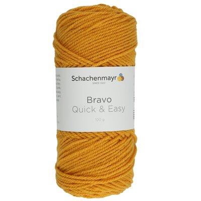 Acrylic yarn Bravo Quick & Easy  - Gold 08028