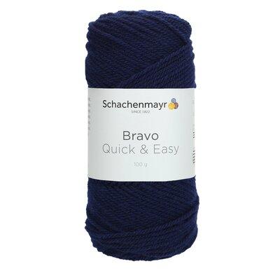 Acrylic yarn Bravo Quick & Easy - Marine 08223
