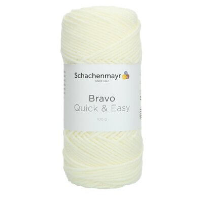 Acrylic yarn Bravo Quick & Easy  - Natural 08200