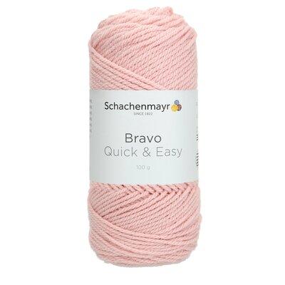 Acrylic yarn Bravo Quick & Easy - Old Rose 08379