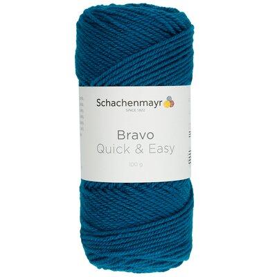 Acrylic yarn Bravo Quick & Easy - Petrol 08195