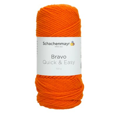 Acrylic yarn Bravo Quick & Easy - Pumpkin 08192