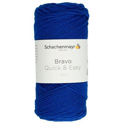 Acrylic yarn Bravo Quick & Easy -Royal 08211