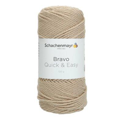 Acrylic yarn Bravo Quick & Easy - Sisal 08267