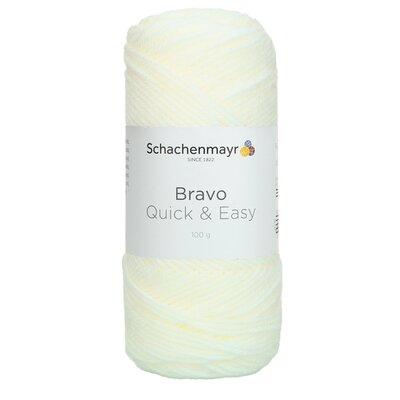 Acrylic yarn Bravo Quick & Easy - White 08224