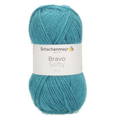 Acrylic yarn Bravo Softy - Aqua 08380
