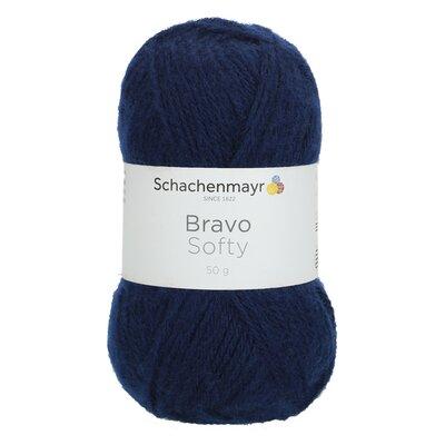 Acrylic yarn Bravo Softy - Marine 08223