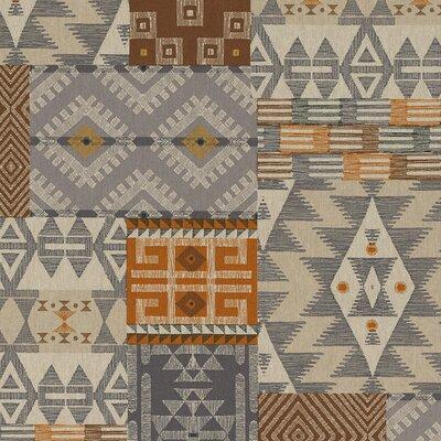 Canvas Linen Look Fabric - Ethnic Chic