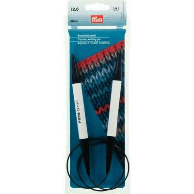 Circular Knitting Pin Plastic 80 cm / 8-20 mm