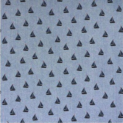 Cotton fabric - Jeans Chambrai Boats