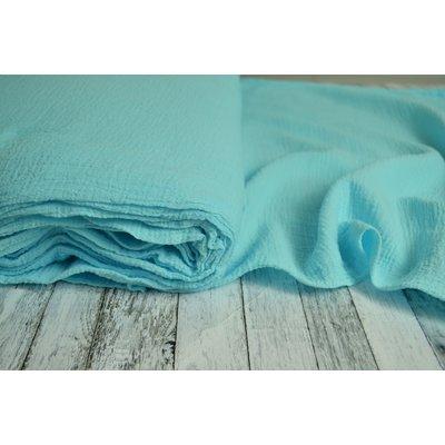 Cotton Gauze Anuca Turquoise