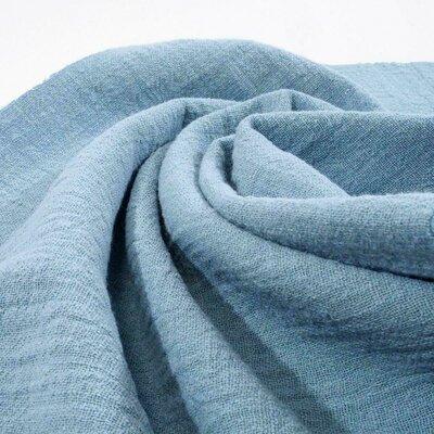Cotton Slub Washed Blue