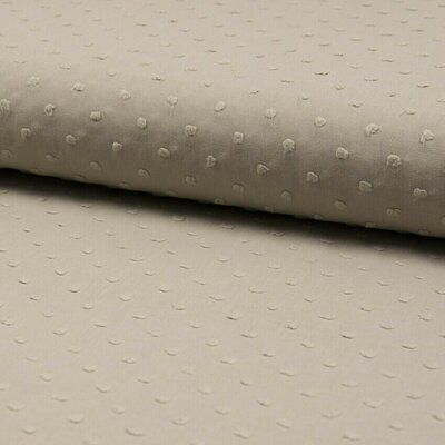 Cotton voile fabric - Dobby Sand