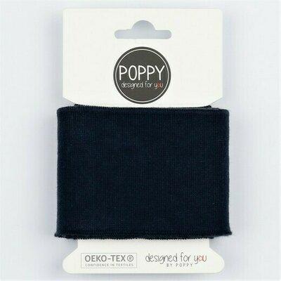 Cuff fabric 135 x 7cm - Navy