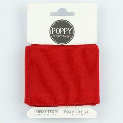 Cuff fabric 135 x 7cm - Red