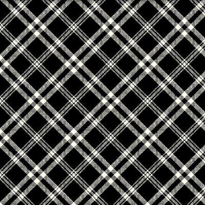 Digital print cotton - Casper Black