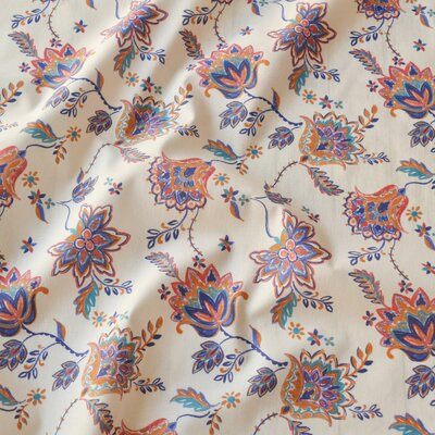 Digital print cotton - Indian Flower