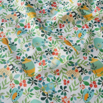 Digital print cotton - Mediteranean Mint