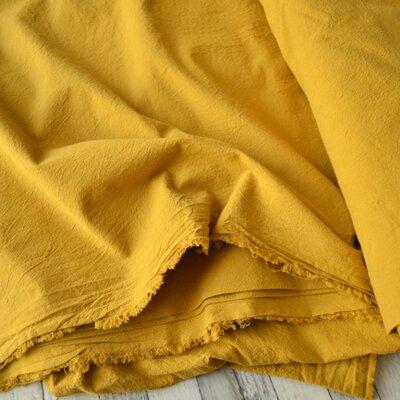 Extrawide Stonewashed Cotton - Carpatin Ochre 2.8