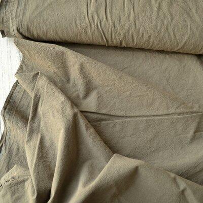 Extrawide Stonewashed Cotton - Carpatin Taupe 2.8