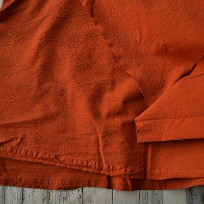 Extrawide Stonewashed Cotton - Carpatin Terracota 2.8