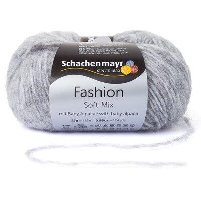 Fashion Soft Mix Yarn - Mid Grey 00090