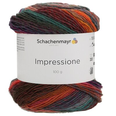 Gradient yarn Impressione - 00080 Sunset Color
