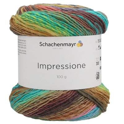 Gradient yarn Impressione - 00081 Sunrise Color