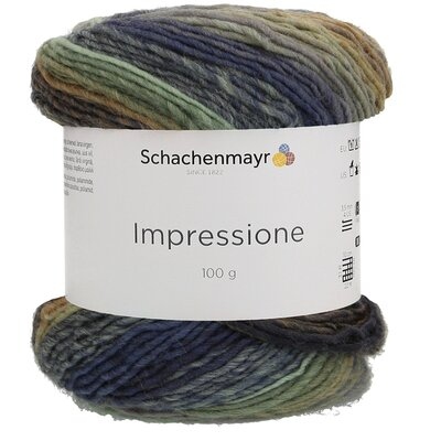 Gradient yarn Impressione - 00083 Winter Sky
