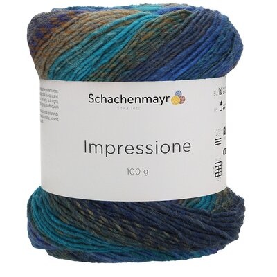 Gradient yarn Impressione - 00084 Night Sky
